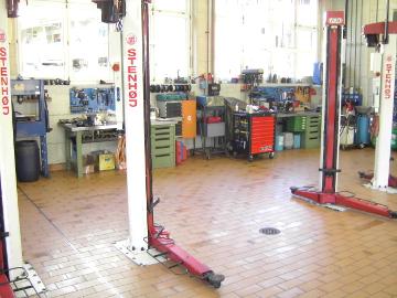 Auto Marcel AG - Werkstatt